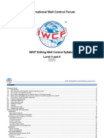 IWCF Drilling Well Control Syllabus - Level 3 and 4