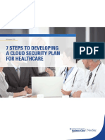 7 Steps to Developing a Cloud Security Plan for Healthcare