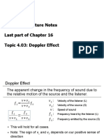 Topic403 [Doppler Effect]
