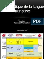 Didactique Du Fran Ais Inzegane 2017