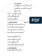 Songbook Chords