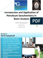 Introduction of Petroleum Geochemistry in Basin Analysis - 1