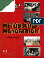 4. Nicolescu, O. - Metodologii Manageriale, 2008