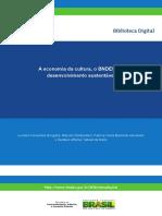 A Economia Da Cultura, o BNDES e o Desenvolvimento Sustentável_P