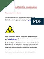 Radiatiile nucleare