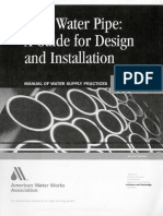 Awwa m11 Steel Water Pipe a Guide for Design and Installation