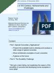 Concretes of XXI Century