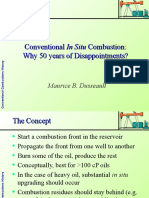 09_Conventional Combustion and Disappointments in Heavy Oil