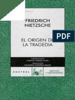El Origen de la Tragedia - Friedrich Nnietzsche.pdf