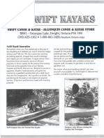 Swift Kayaks Circa 1998