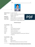 CV-Apaporn Boonrawd, USA