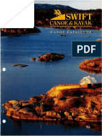 Swift Canoe Catalog Circa 1996