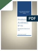 Fundamento del derecho Enunciado Producto Académico N° 01