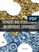 Chapter 3 Mergers and Acquisitions in Franchising Companies 2E 07-18-14 Kirsch