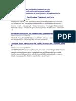 Formação Modular Certificada e Financiada No Porto
