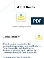Zonal Toll Roads