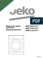 Manual Utilizare Beko WKB50832PTY