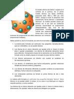 El Modelo Atómico de Dalton1 Surgido en El Contexto de La Química