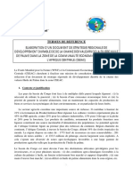 Elaboration Du Document de Stratégie Régionale Filière Huile de Palme Afrique Centrale