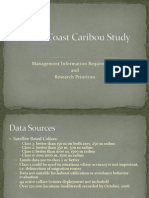 South Coast Caribou Study Presentation 2007