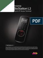 Brochure BioStation L2