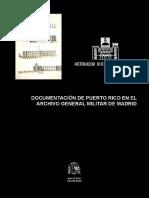 Documentacion de Puerto Rico en El Archivo General de Madrid (2002)