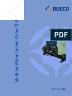 Modular Water Cooled Water Chiller - (With PLC French)