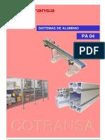 Pa04 Cotransa Catalogo Sistemas de Aluminio Estructural