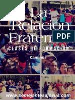 Cuaderno 3 - Pcm - La Relacion Fraternal - Camino i