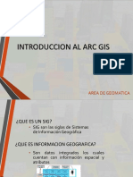 01.- Introduccion Al Arc Gis