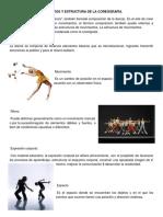 Elementos y Estructura de La Coreografía.