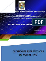 Decisiones Estrategicas de Marketing