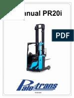 Manual de Peças PR20I