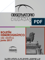 Boletín Hemerográfico Junio 2017 OCL