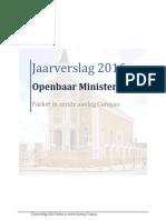 Jaarverslag 2016 Openbaar Ministerie Curacao