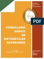 Formulario Matemáticas Superiores v2015