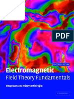 Book - 1998 Electromagnetic Field Theory Fundamentals by Bhag Singh Guru