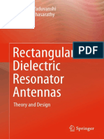 Book - 2016 Rectangular Dielectric Resonator Antennas Theory and Design