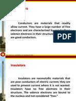 2. Conductors and Insulators