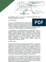 Nueva Ley de Derecho rio Urbano1