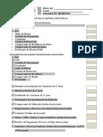 Check list de documentos (Ficha do aluno)¹.doc