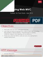 HNVN TR 07040 SpringWebMVC Part2 CoursePresentation
