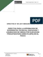Directiva Pescs - 2017 Unificado