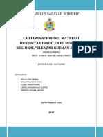 Eliminacion Del Material Biocontaminado Hregb
