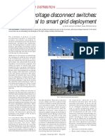 Ehv Disconnectors for Smart Grid