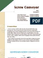2. Screw Conveyor