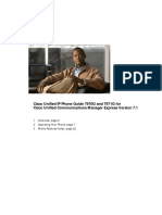 Cisco Unified IP Phone Guide 7970G and 7971G