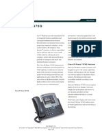 Cisco IP Phone 7970G Data Sheet