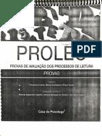 PROLEC - Provas