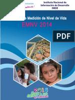 Encuesta de Medición del Nivel de Vida. Nicaragua 2014